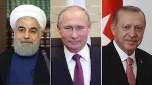 Image result for erdogan putin rouhani