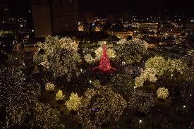 Tree Lighting Kicks Off Month Of Holiday Activities In
