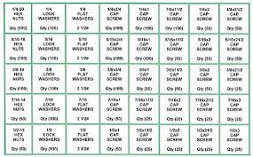 397 46 Nut Bolt And Washer Assortment Grade 5 Uss Refill