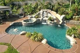 backyard pool with slides. Brilliant Pool Pool Designs With Slides Slide Backyard Papa  Intended Backyard Pool With Slides