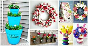 101 easy diy spring craft ideas and