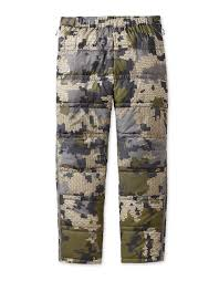 Superdown Size Chart Super Down Pants Cold Weather Hunting Pants Kuiu