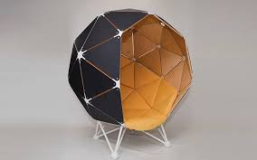 the planet is a personal pod chair complete with speakers and solar panels it s a melding of the 1960s lee west stereo alpha egg chair concept with a