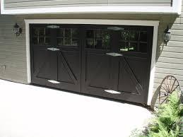 black garage doorBlack Garage Doors for Modern Styles  InteriorDesigNewcom