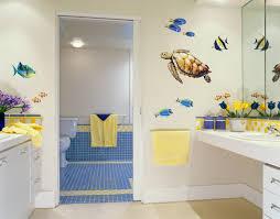bathroom design themes. Marine Animal Themed Bathroom Design Ideas With Large Mirror Themes M