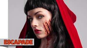 deadly red riding hood makeup tutorial makeup ideas you