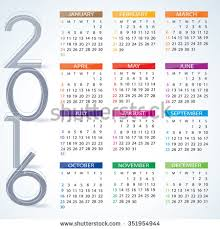 year calender year calendar stock images royalty free images vectors