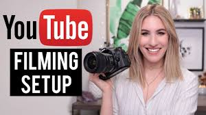 perfect filming setup for beauty videos lighting camera sound jamie paige you