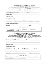 Resume Model Resume Format Internal Sample For Promotion Template