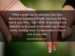40 Best Engagement Wishes Beautiful Quotes To Congratulate New One Year Complete Engagement Status Hubby