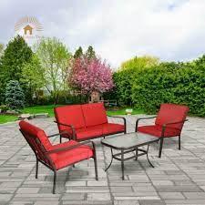 retro patio set chairs vintage metal