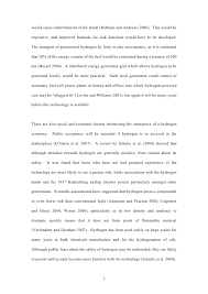 an essay on the hydrogen economy  7 would