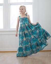 Simple Life Pattern Company Delectable Bella's Dress Maxi The Simple Life Pattern Company