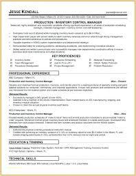 Excel Resume Examples Supervisor Resume Examples Emelcotest Com