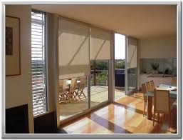 Window Treatments For Sliding Glass Doors Shade For Sliding Glass Door And Window Treatment Idea With
