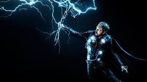 Thor 4K Wallpaper, God of Thunder ...