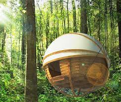 Hanging Tree House Tree House Inhabitat Green Design Innovation Architecture
