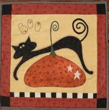 halloween quilt | Pumpkin Berries Stitchery Quilt Patterns ... & halloween quilt | Pumpkin Berries Stitchery Quilt Patterns Adamdwight.com
