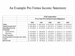 what is a proforma sample pro forma under fontanacountryinn com