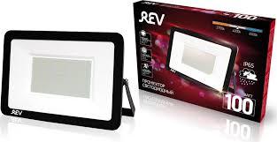 <b>Прожектор</b> светодиодный <b>REV Ultra Slim</b> Profi, черный, 100W ...
