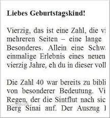 Kurze Freche Sprüche Zum 40 Geburtstag Frau Gute Bilder
