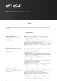 Key Skills Resume Administrative Assistant Administrative Specialist Resume Samples And Templates