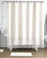 idea nuova pure bath 15 pc shower curtain hooks rugs set at macys 80 beige