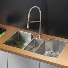 Ruvati Gravena 35 L X 20 W Triple Bowl Dual Mount Kitchen Sink