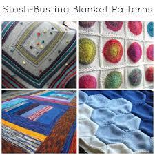 Blanket Patterns Mesmerizing 48 StashBusting Blanket Patterns To Knit