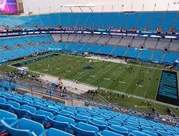 Carolina Panthers Seating Chart With Rows Bank Of America Stadium Section 511 Seat Views Seatgeek