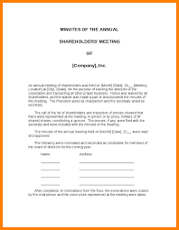 corporate annual meeting minutes sample 9 corporate meeting minutes template prome so banko