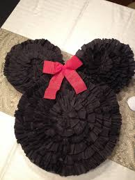 Minnie mickey mouse pi ata. Made using old cardboard boxes for.