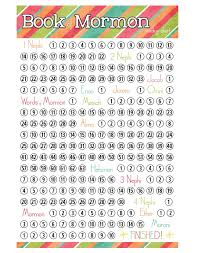 Book Of Mormon Reading Chart Printable Pin By Leanna Leavitt On Young Womens Lds Scriptures Lds