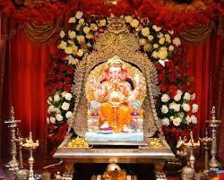 ganpati flower decoration ms durva enterprises in mumbai india