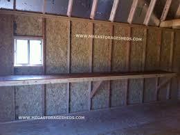 storage shed shelves