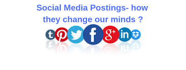 Social Media Postings How They Change Our Minds Digital