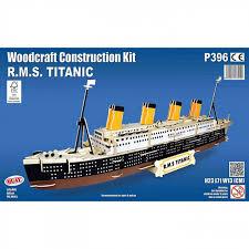 rms titanic woodcraft quay construction wooden 3d model kit p396 age 9 plus2