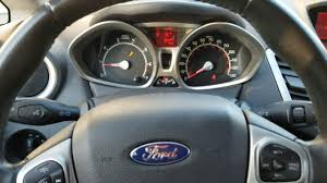 What Does The Wrench Light Mean On A Ford Fiesta How To Clear Reset Oil Wrench On Dash Ford Fiesta