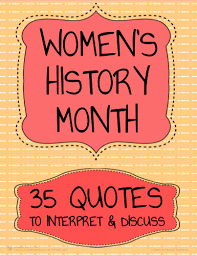 35 Free Womens History Month Activities For Middle School Or High