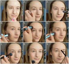 between diffe colours and contours of the face see the steps i take in the images below to achieve a natural glowing less is more makeup look