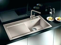 cast iron sink kitchen s drain executive chef sterling kohler undermount riverby single basin