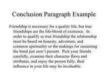 true friend essay conclusion short essay on true friendship
