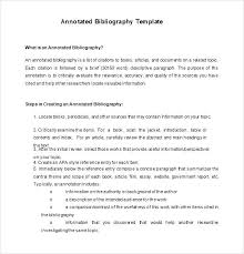 Annotated Bibliography Template Mla Format Annotated Bibliography Template Innovanza Co