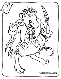 Mouse King Nutcracker Soldier Coloring Page