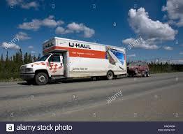 U Haul Moving Truck On Highway Stock Photos & U Haul Moving Truck On ...