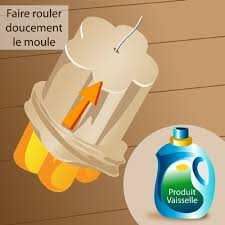 perfect affordable cas dmoulez vos bougies moules en latex with ment faire du latex liquide maison with ment faire une bougie maison