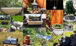 17 diy solar water fountain ideas how