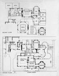 Frank Lloyd Wright Robie House Floor Plans Oak  Building Plans Frank Lloyd Wright Home And Studio Floor Plan