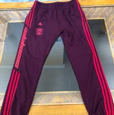 Medium Adidas Track Pants Size Chart