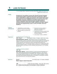 special education teacher resume samples coursework ...